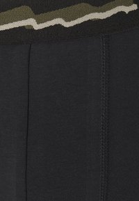 Pier One - 3 PACK - Pants - black/khaki - 4