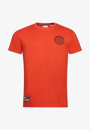 EXPEDITION  - T-shirt med print - bold orange