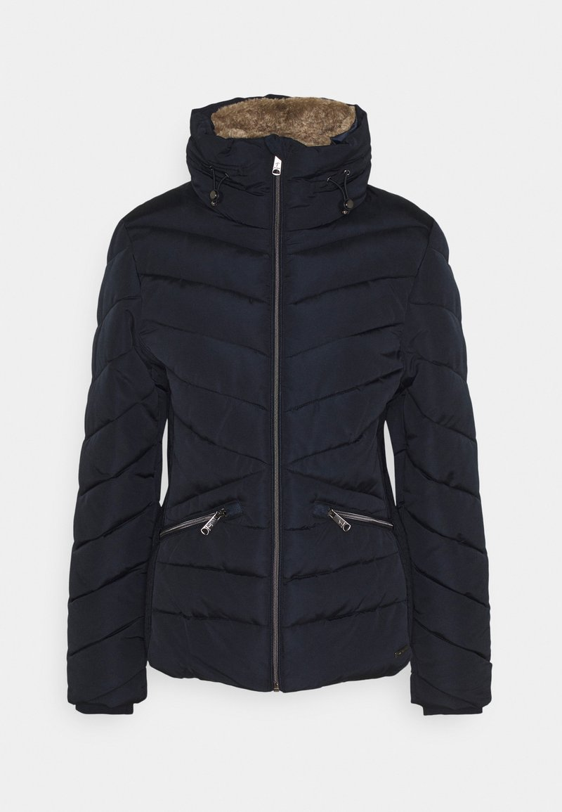 TOM TAILOR - WINTERLY PUFFER JACKET - Winter jacket - sky captain blue