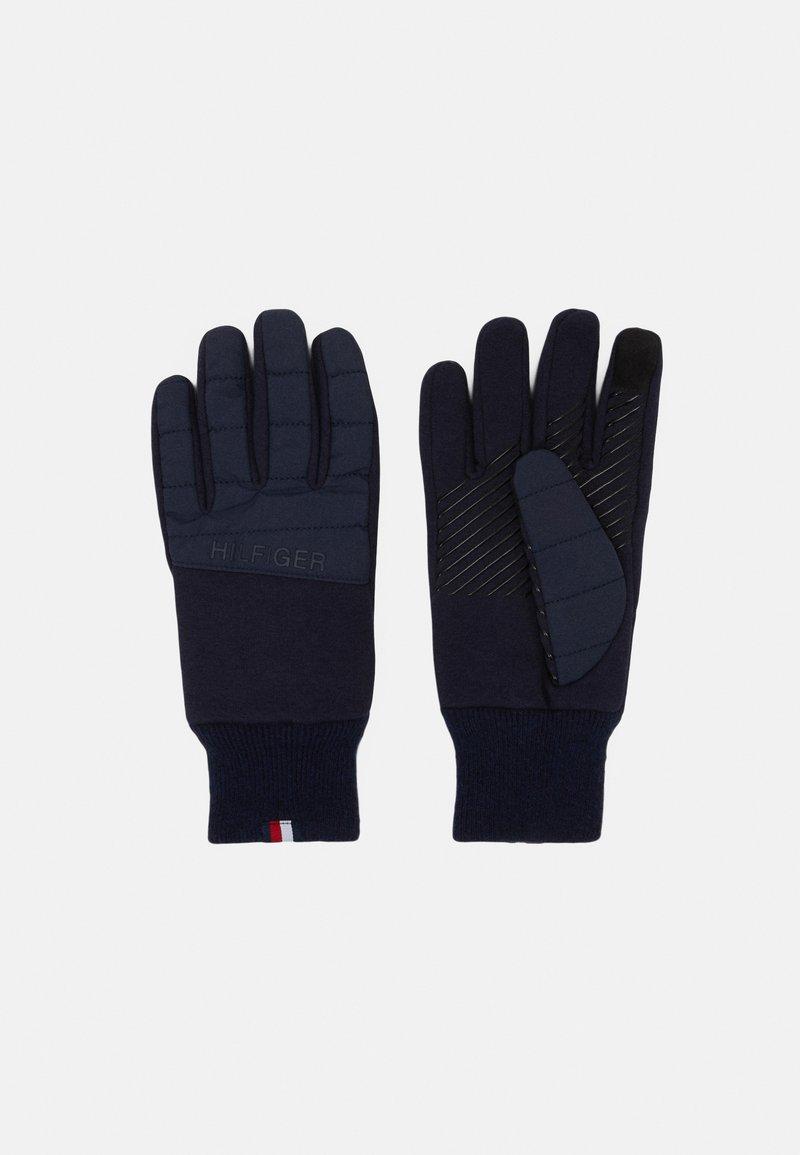 Tommy Hilfiger - GLOVES - Gloves - desert sky