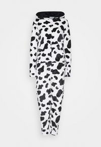 Loungeable - COW PRINT ALL IN ONE WITH EARS - Pyjamas - black/white - 4