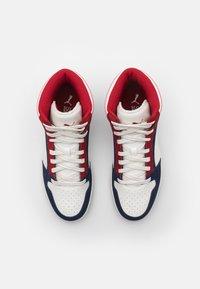 Puma - REBOUND LAYUP UNISEX - Sneakers hoog - peacoat/vaporous gray/red dahlia - 3