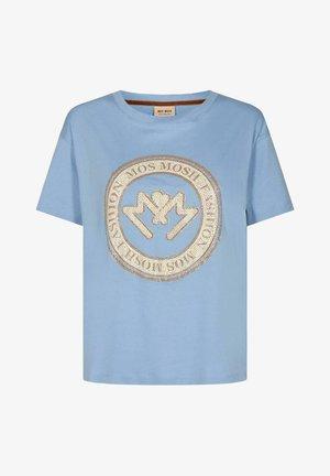 EDLES - Print T-shirt - hellblau