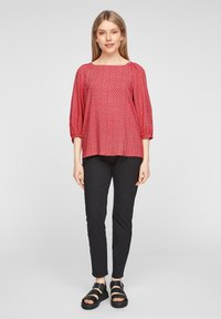 s.Oliver - Blouse - true red embroidery - 1