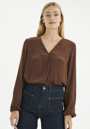 RINDAIW  - Blouse - coffee brown