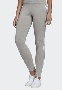 adidas Originals - ADICOLOR TREFOIL TIGHTS - Leggings - grey - 0
