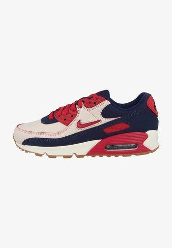 AIR MAX PREMIUM - Sneakers - sail-midnight navy-gum medium brown-university red