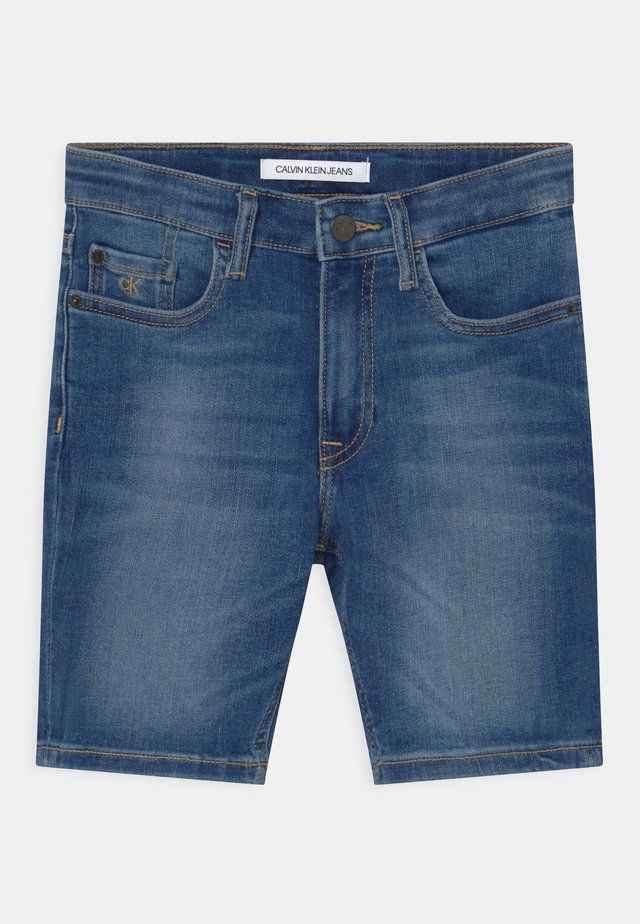 REGULAR  - Shorts di jeans - blue