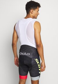 ODLO - SHORT SUSPENDERS SCOTT SRAM RACIN - Tights - black - 2