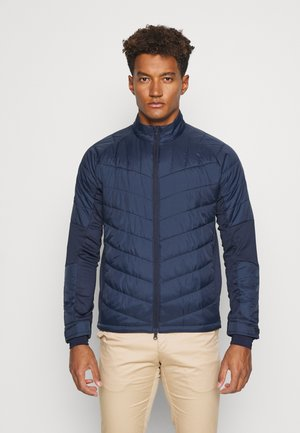 SWING TECH QUILTED JACKET - Outdoor jacket - peacoat