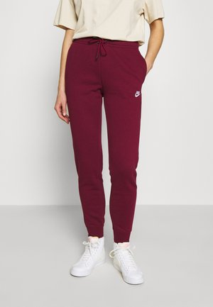 Tracksuit bottoms - dark beetroot