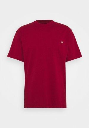 PORTERDALE POCKET TEE - Basic T-shirt - biking red