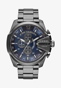 Diesel - MEGA CHIEF - Chronograph watch - grey