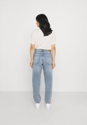 DAGNY MOM - Relaxed fit jeans - sea blue destroy