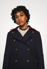 YAS - YASPERFORM COAT - Classic coat - sky captain - 4