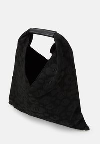 MM6 Maison Margiela - LEOPARD GIAPPONESE SMALL - Shopping bag - black - 4
