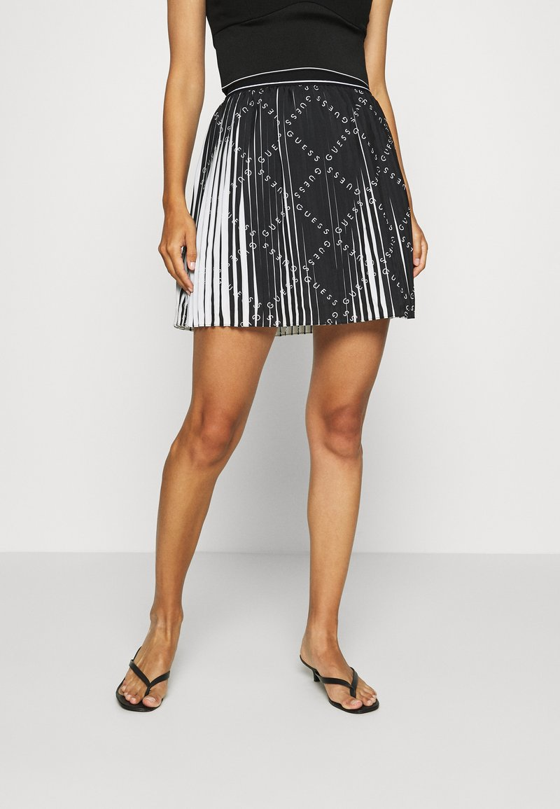 Guess - PAGE  - Pleated skirt - black
