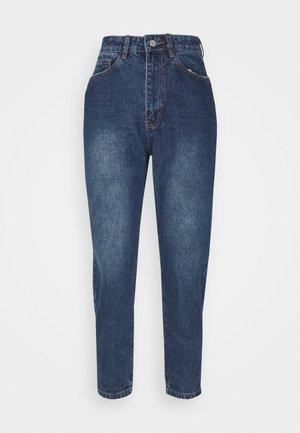 RIOT MOM JEANS INDIGO - Straight leg jeans - blue