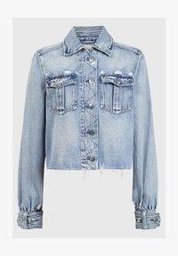 AllSaints - MAISY DENIM SHIRT JA - Denim jacket - blue - 0