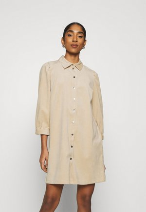 ONLRILLA PUFF DRESS - Shirt dress - humus