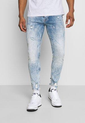 Jeans Skinny - washed indigo