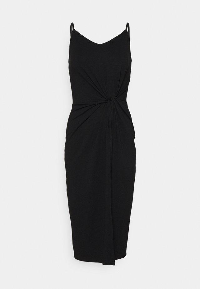 MAXINE DRESS - Jersey dress - schwarz