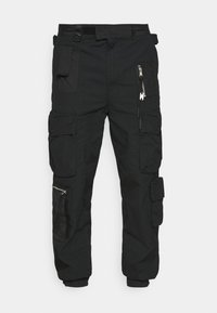 P-GAGE - Cargo trousers - black