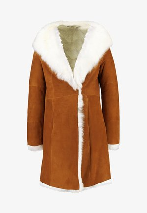 VANESA TOSCANA COAT - Wintermantel - chestnut