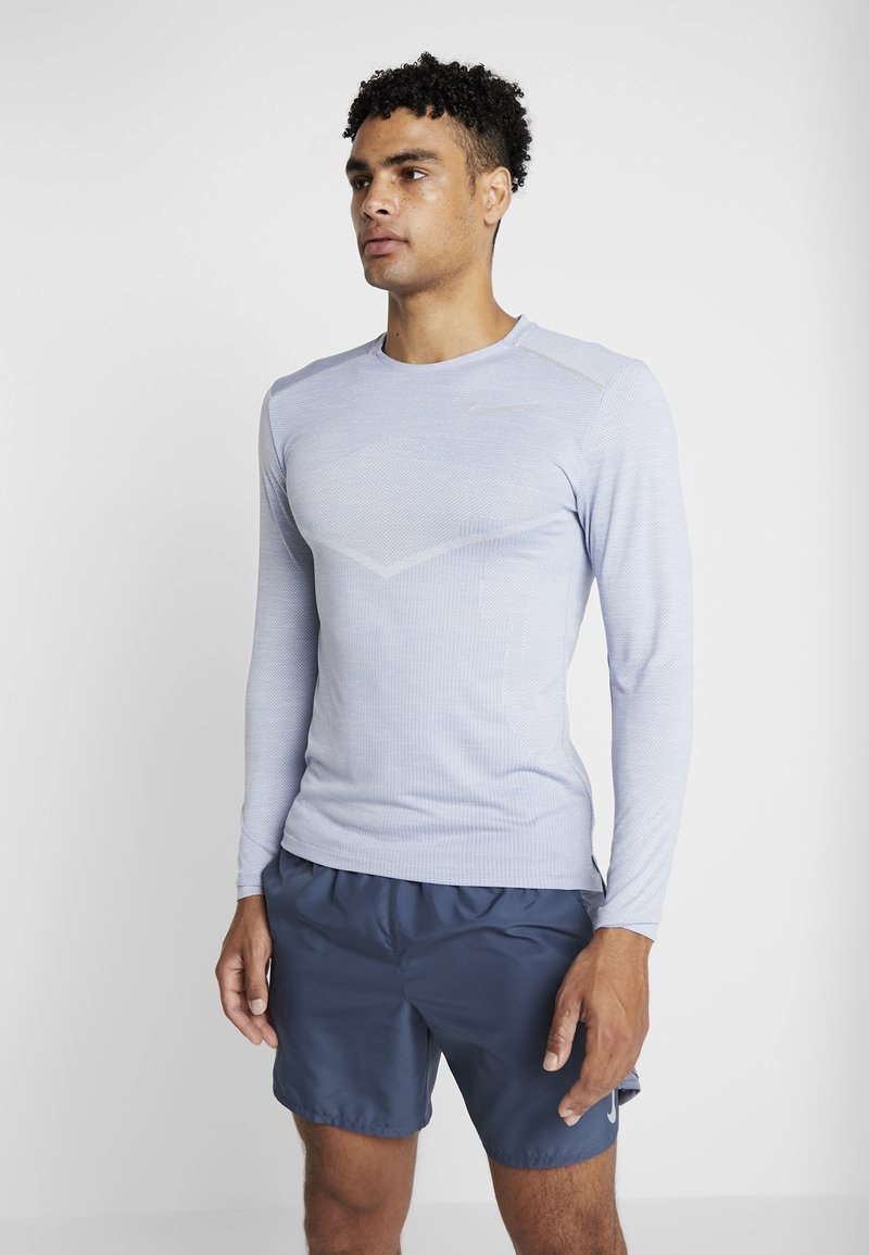 Nike Performance - ULTRA - Funktionsshirt - indigo fog/football grey