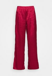 Never Fully Dressed - RED VOGUE TROUSER - Trousers - red - 5