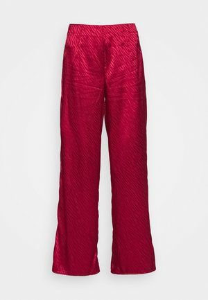 RED VOGUE TROUSER - Trousers - red