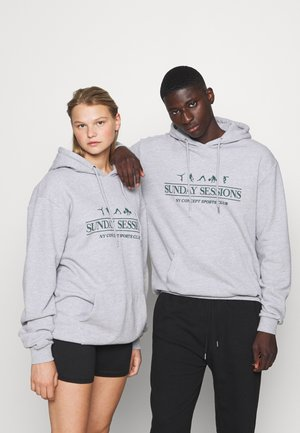 SESSIONS HOODIE UNISEX - Sweater - grey marl