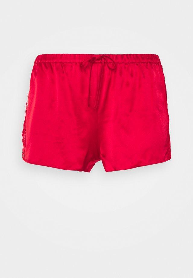 GISELE SHORTS - Pyjamahousut/-shortsit - red