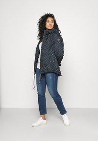 Ragwear Plus - DANKA DOTS - Short coat - navy - 1
