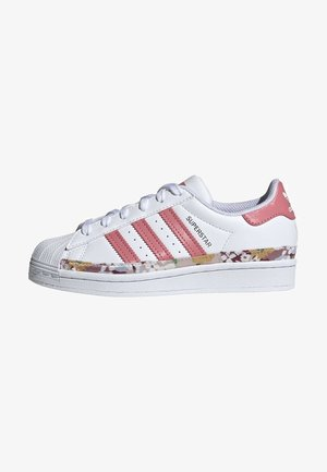 SUPERSTAR SHOES - Sneakersy niskie - ftwr white/hazy rose/hazy rose
