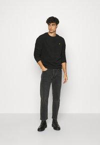 Pier One - Fleece jumper - black - 1