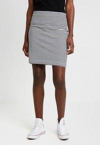 edc by Esprit - BEACH SKIRT - Mini skirt - off white - 0