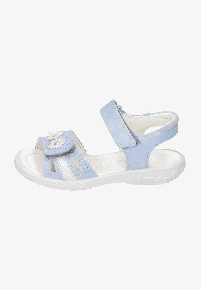 Walking sandals - himmel/bianco