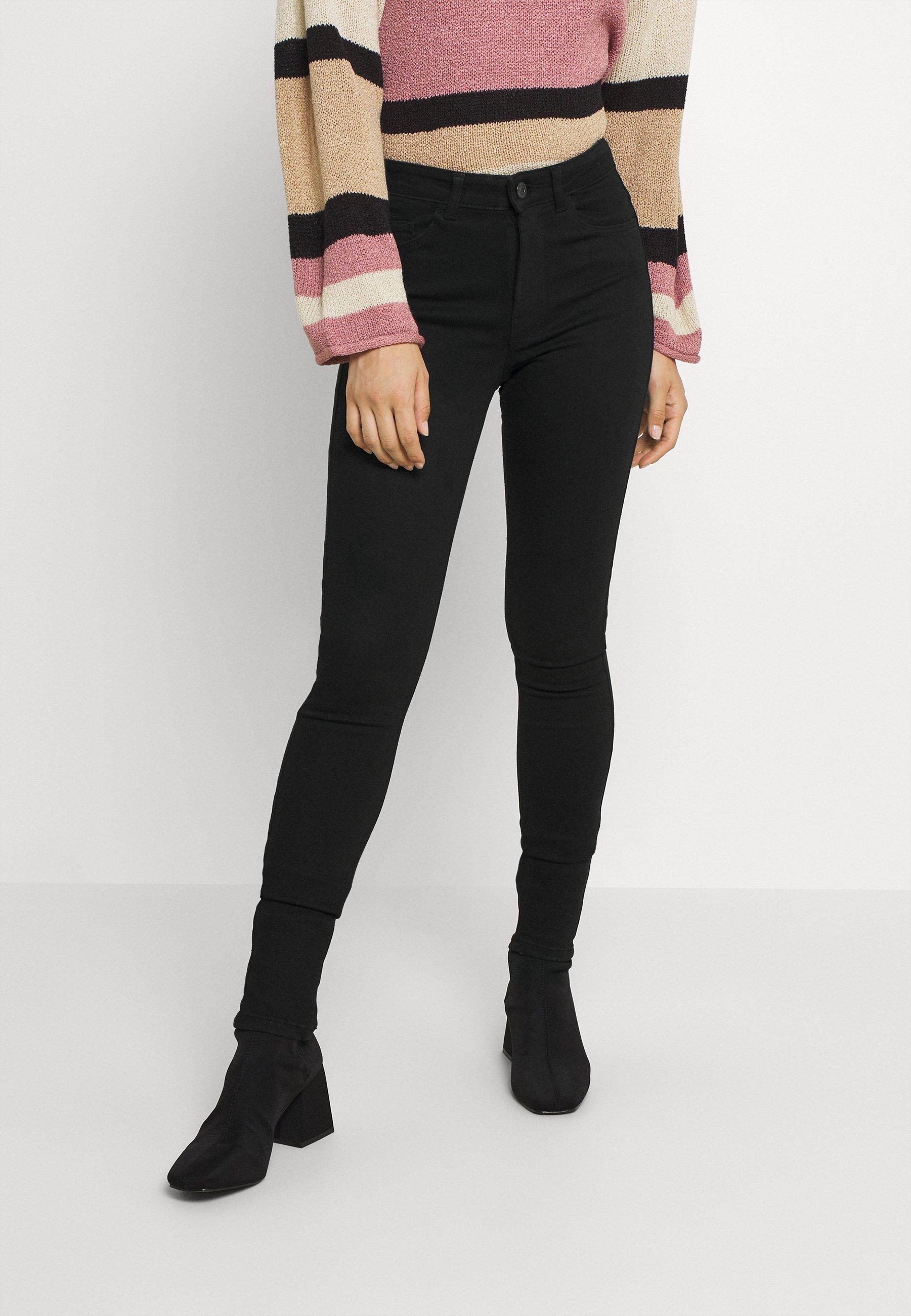 Women PCMIDFIVE FLEX - Jeans Skinny Fit