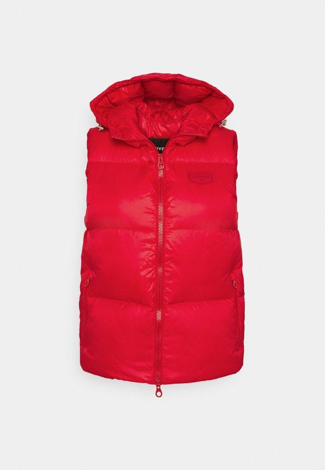 SADALSUUD - Bodywarmer - rosso cinese