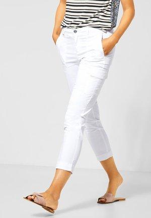 YULIUS IM CARGOSTYLE - Trousers - weiß