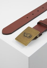 Polo Ralph Lauren - PONY BUCKLE-CASUAL - Cinturón - brown - 3