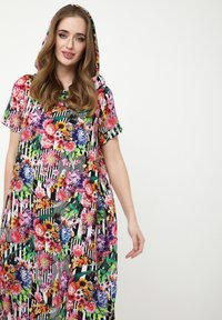 Madam-T - ADELINARA - Maxi dress - schwarz rosa - 4
