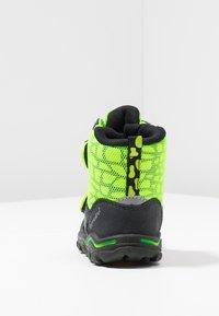 Lurchi - KEKO SYMPATEX  - Winter boots - atlantic/neon yellow - 3