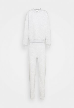 BASIC SET - Tracksuit - grey melange