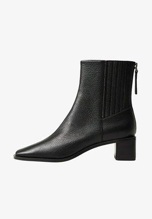 SOFT - Boots à talons - schwarz