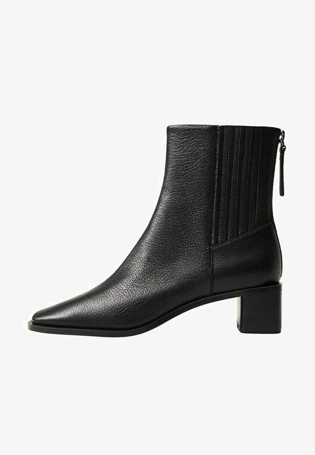 SOFT - Korte laarzen - schwarz