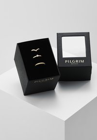 Pilgrim - SPECIAL DESIGN 3 PACK - Ring - gold-coloured - 3
