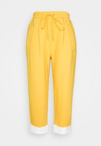 3.1 Phillip Lim - UTILITY TIE WAIST CROPPED TROUSER - Trousers - marigold - 6