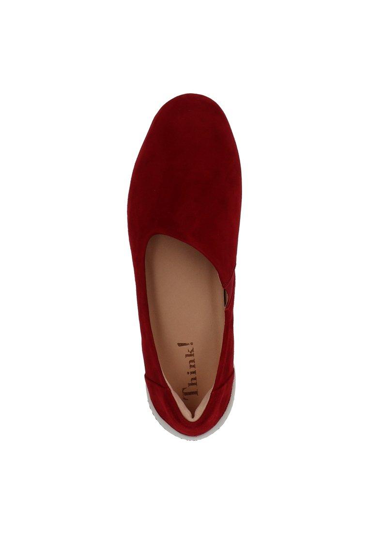 THINK! SLIPPER Slip ons red